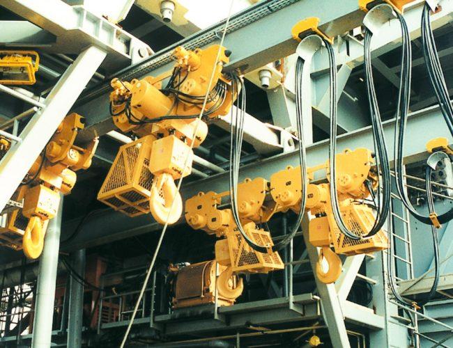 Monorail of Hoist Cement Plants_2