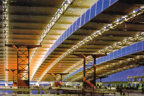K.L.I.A Roof Truss and Luggage Conveyor_1